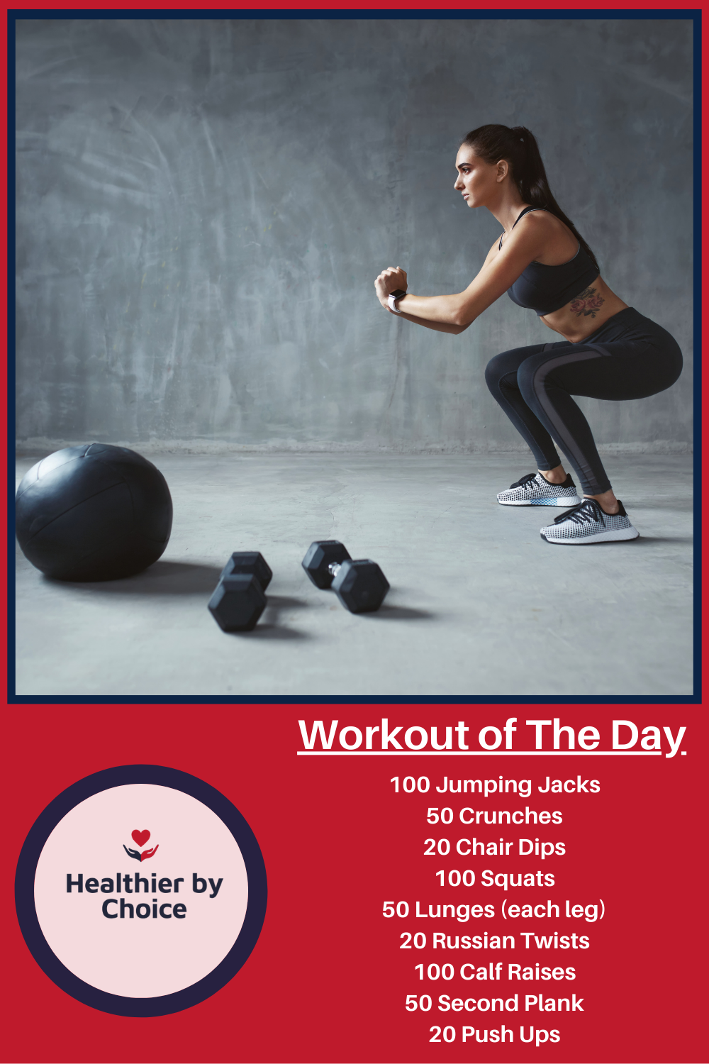 Workout Of The Day In 2020 Russian Twist Calf Raises Workout