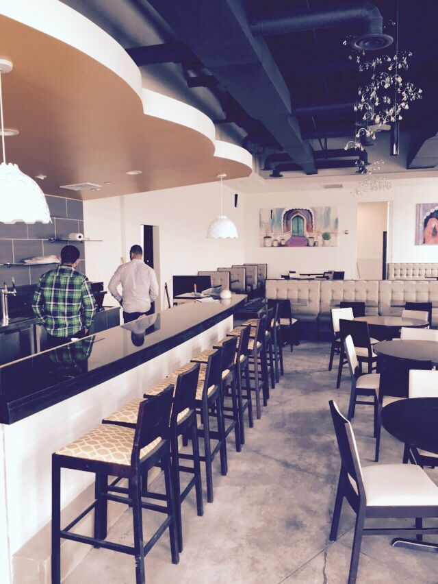 Fun And Funky Indian Restaurant Located In One Loudoun Ashburn Virginia Pind Cuisine Pindindian