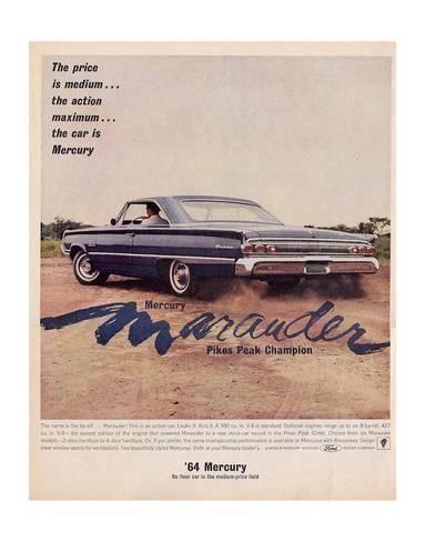 1964 Mercury - Marauder Price | Products | Pinterest | Mercury ...