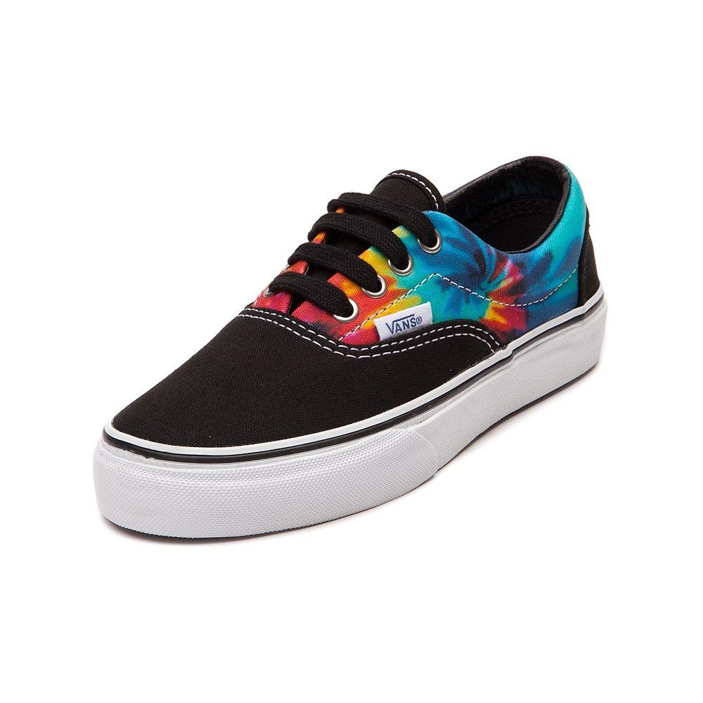 Youth Vans Era Tie Dye Skate Shoe Shoes, Vans