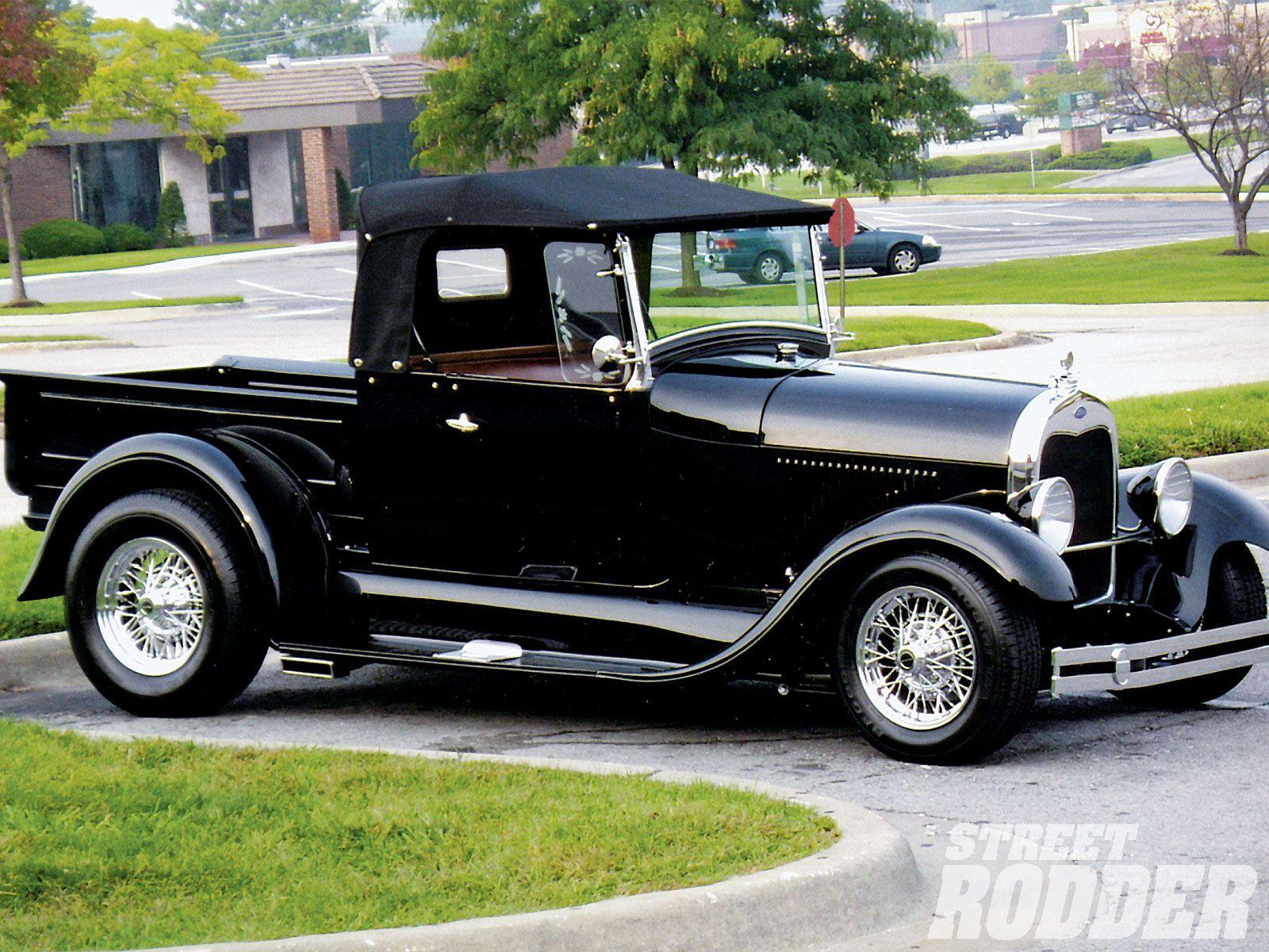 Image result for Street Rodders Dream: Elegant and Fast - 1929 Ford Pickup