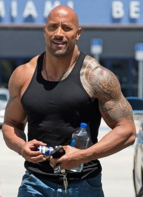 b0302a406 Dwayne Johnson Biceps Size, Height, Weight,Body Measurements ...