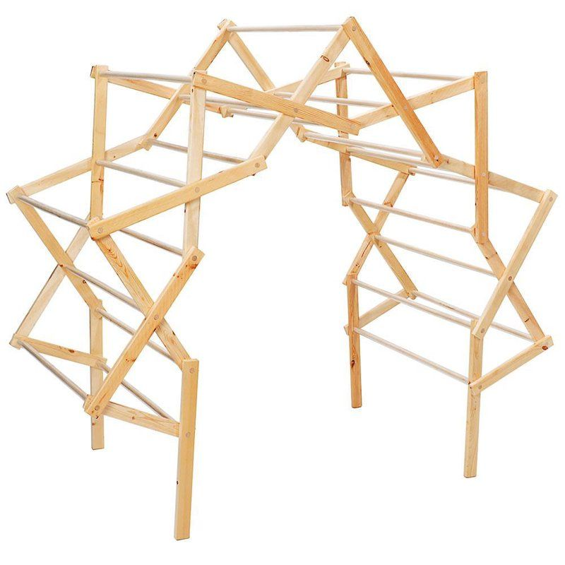 Extra Large Arch Drying Rack In 2020 Drying Rack Wooden Drying Rack Diy Crafts For Home Decor