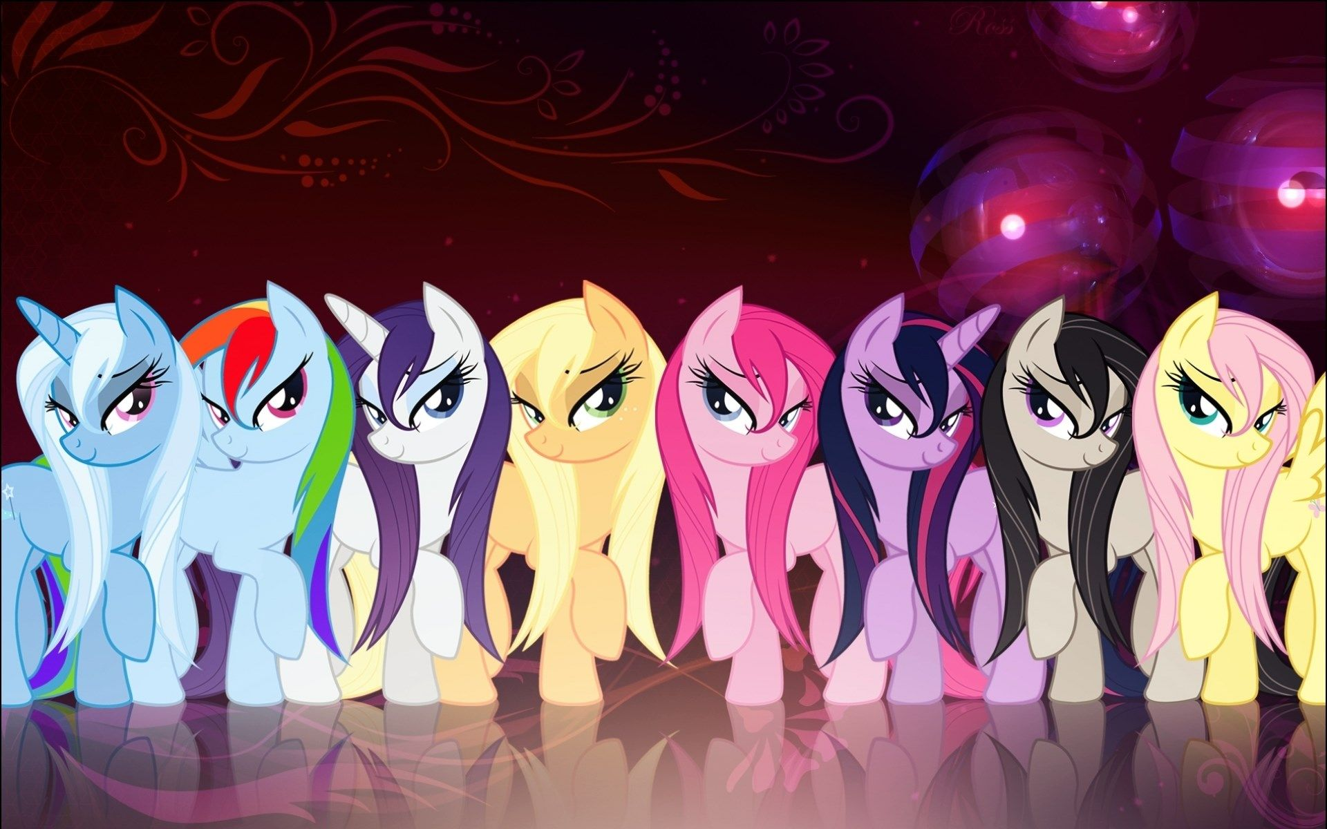 1920x1200 My Little Pony Wallpaper Android Imagens Para Perfil