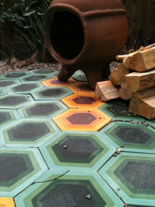colorful flooring