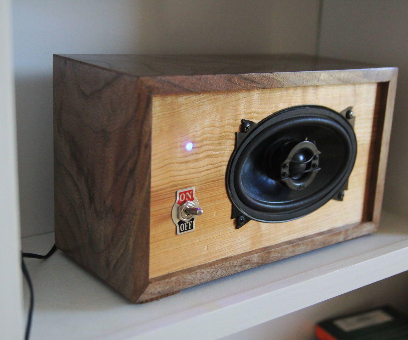 DIY Bluetooth Bookshelf Speaker Diy bookshelf speakers