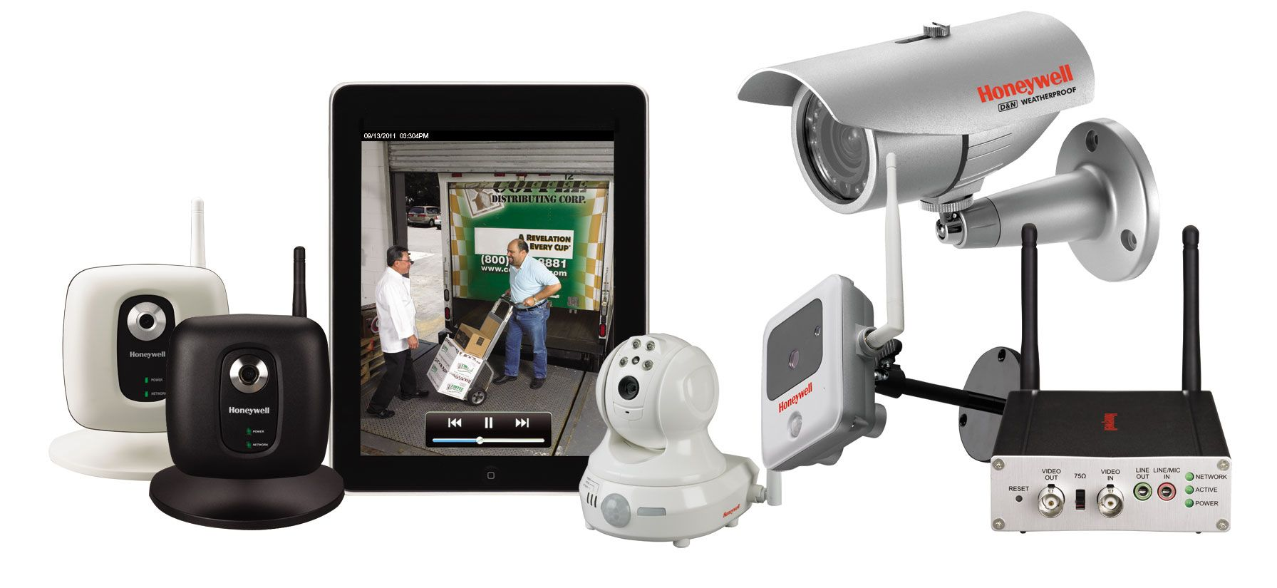 Long Lasting Wireless Video Security System Home