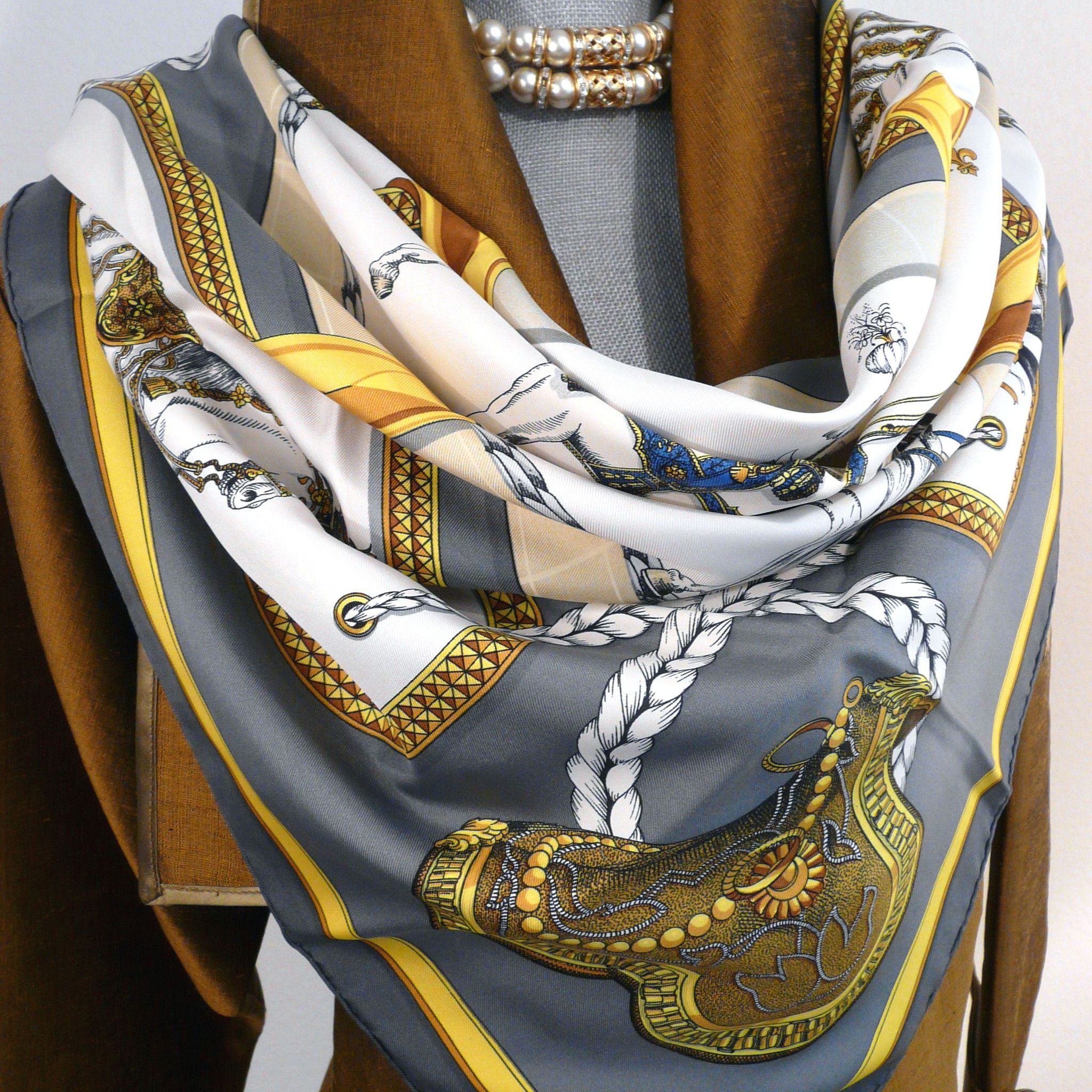 franco ferrari elements woven scarf