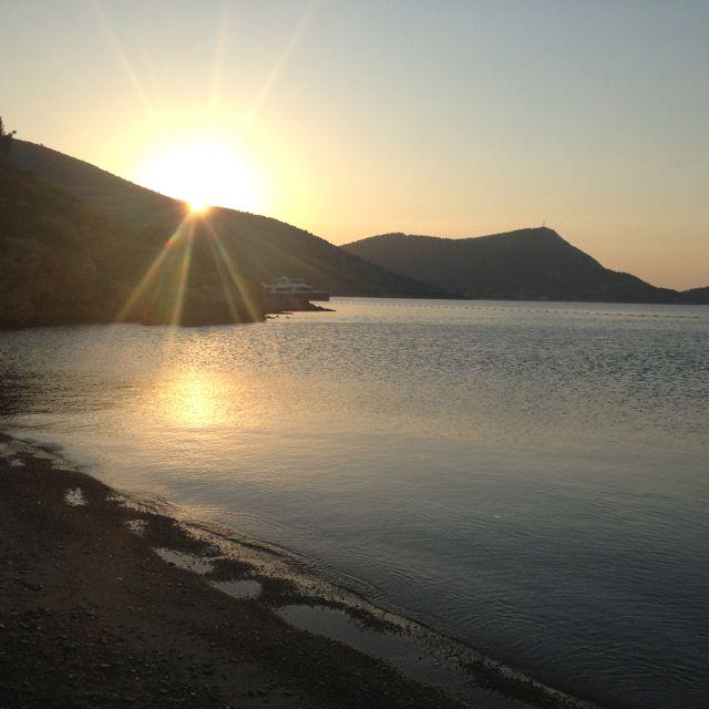 Dawn in Bodrum - kempinski barbaros bay