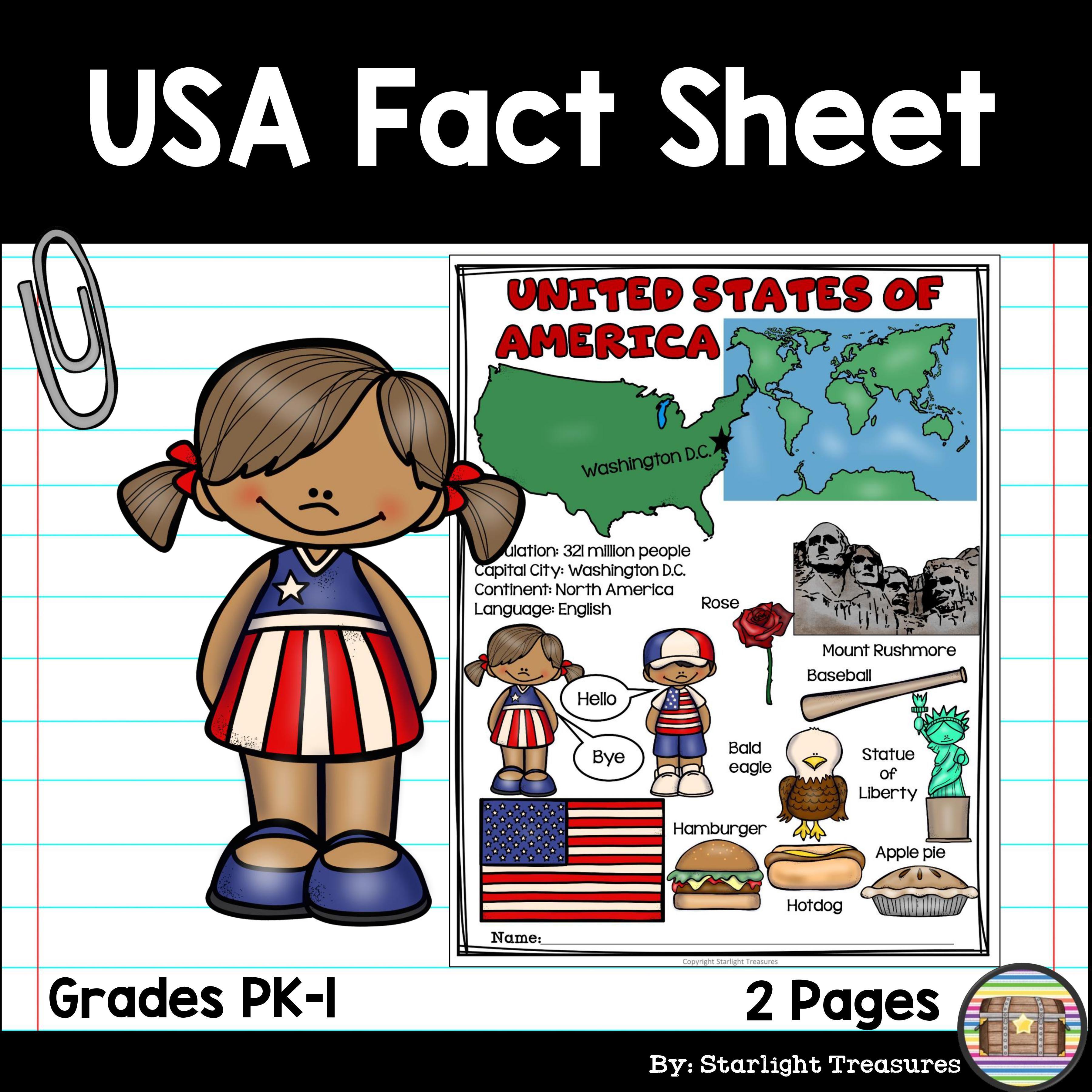 Usa Fact Sheet