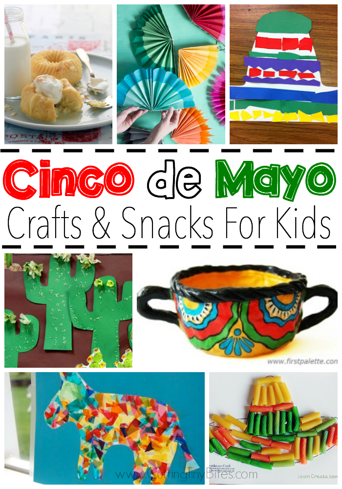 1a4cd5ecb1 Celebrate Cinco de Mayo with kids! Great collection of crafts and snacks  that you can make with your toddler