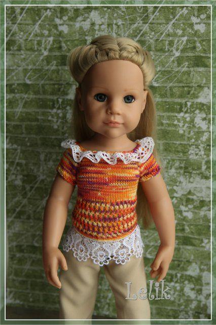 Кофточку для куклы своими руками 311