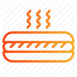 Fast Food Hot Dog Sausage Icon Download On Iconfinder Fast Food Chicken Icon Hot Dogs