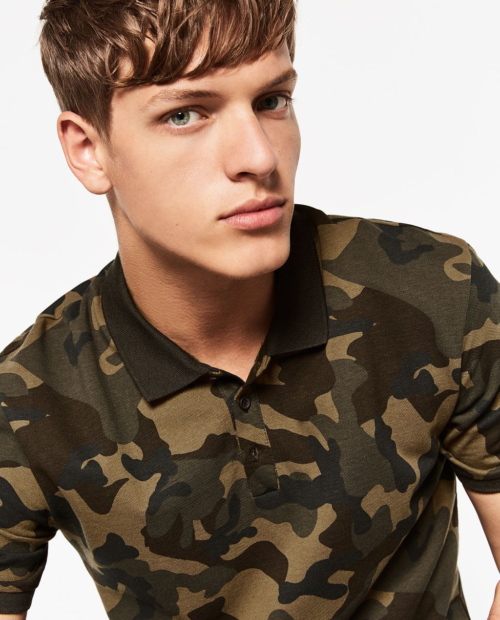 d6ade87b CAMOUFLAGE POLO SHIRT-T-SHIRTS-MAN-COLLECTION AW16 | ZARA United States