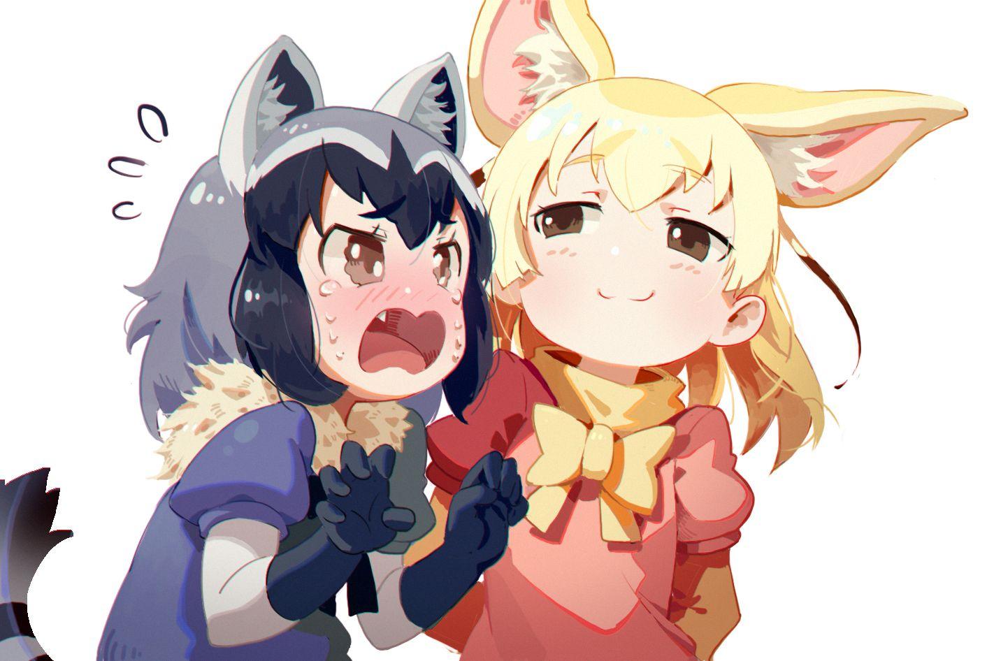 AnimeKemonoFriendsraccoon(kemonofriends)fennec