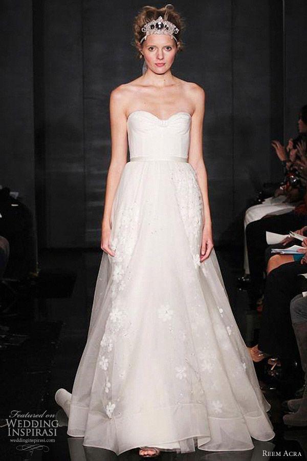 fcbf8ccddbb3 reem acra bridal fall 2012 collection -- Reem Acra Fall 2012 Wedding Dresses  | Wedding Inspirasi #wedding #weddings #bridal #weddingdress  #weddingdresses ...