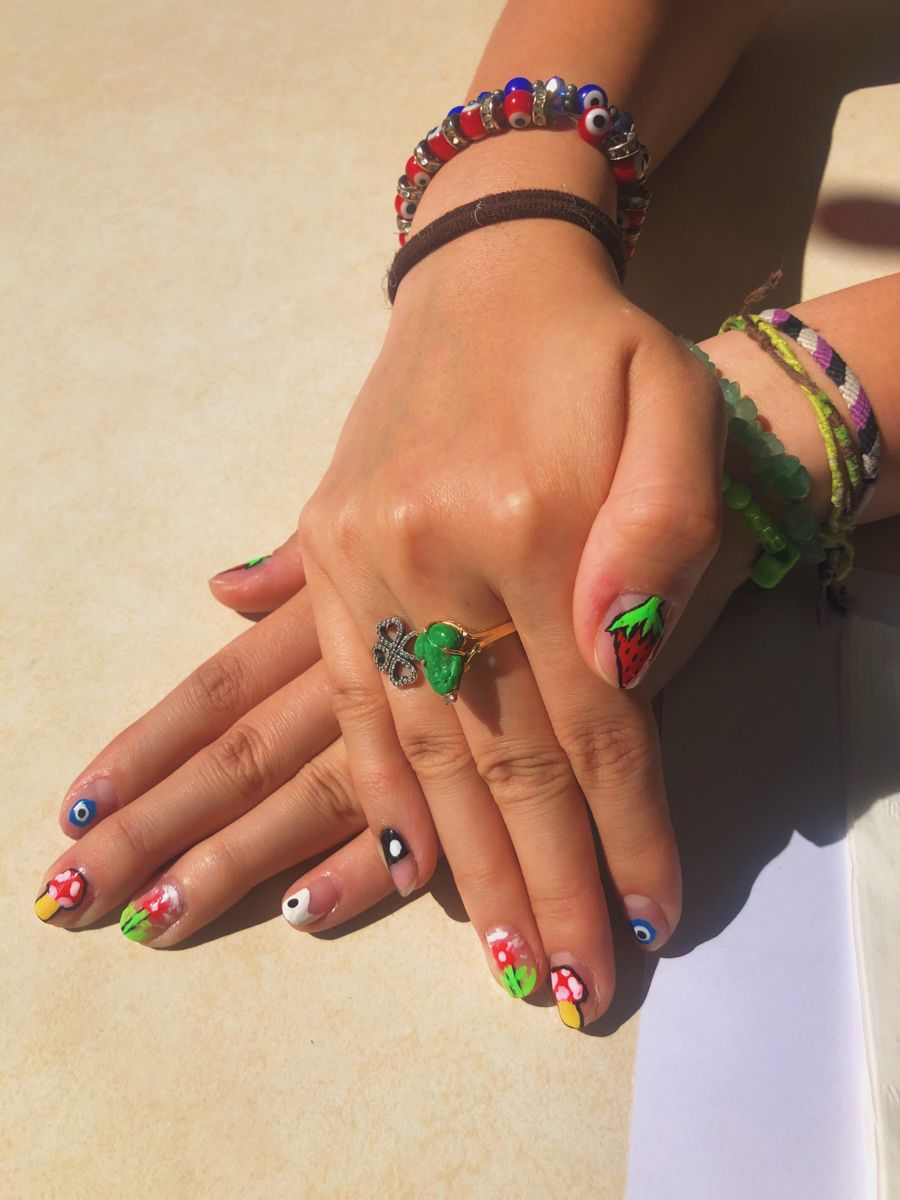 Insta Nihaojessly In 2020 Pretty Acrylic Nails Swag Nails Minimalist Nails