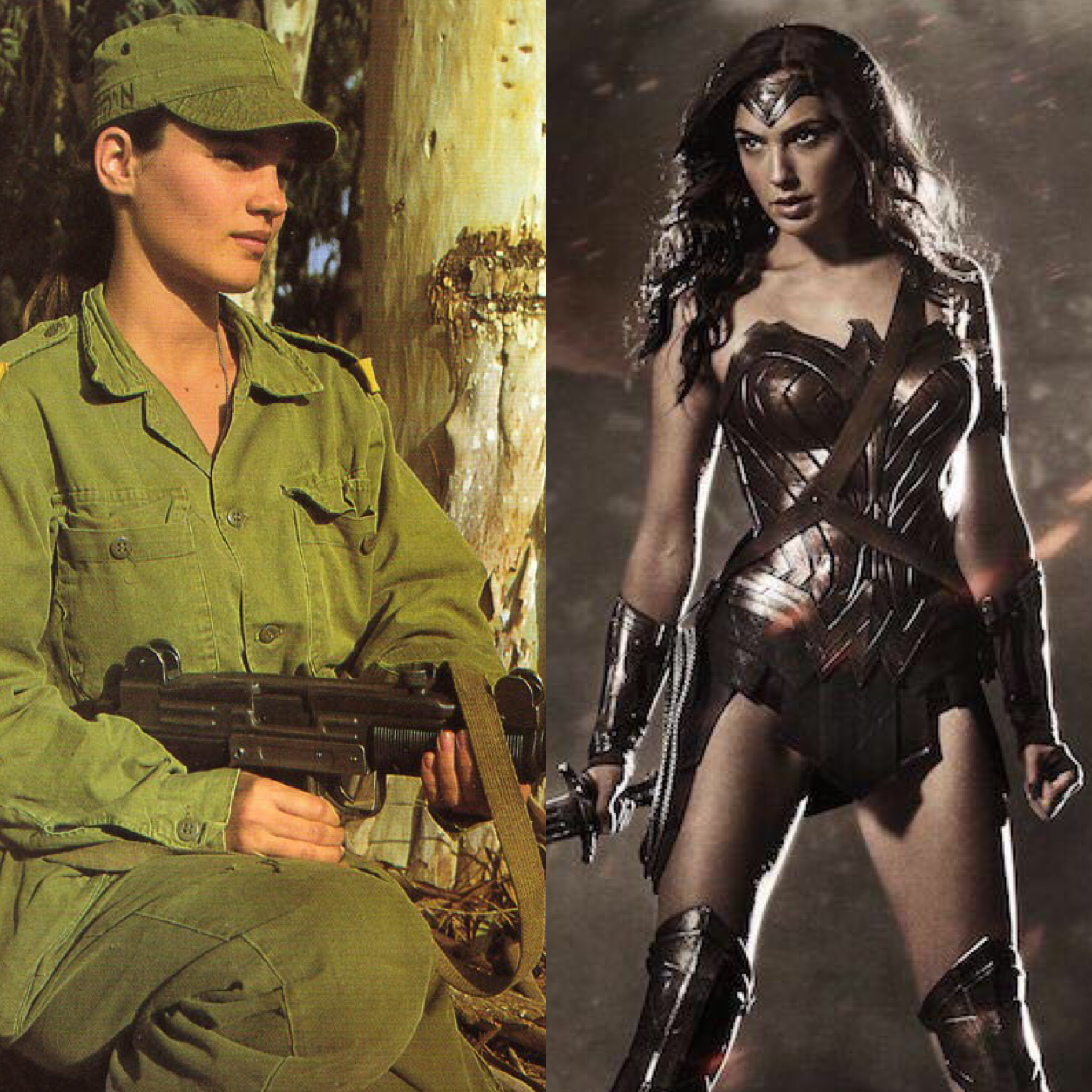 Image result for gal gadot military
