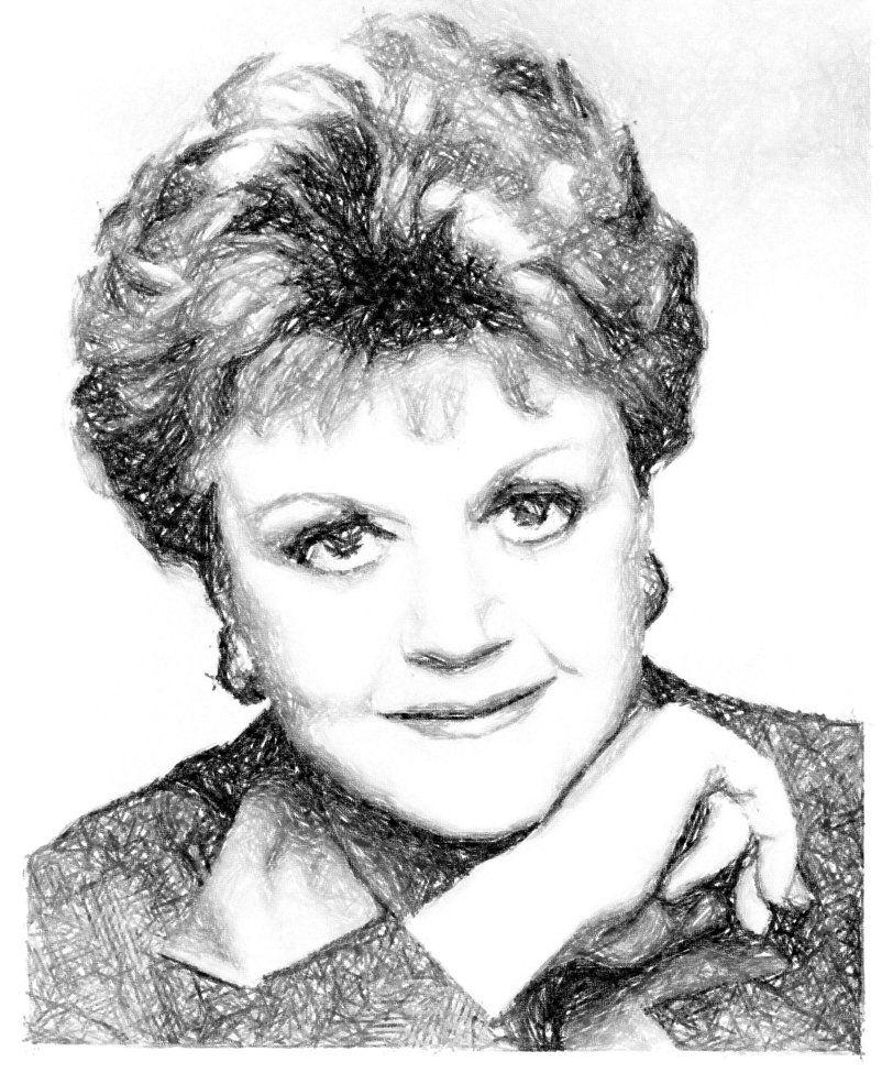 murder, she wrote: jessica fletcher; short haircut, great