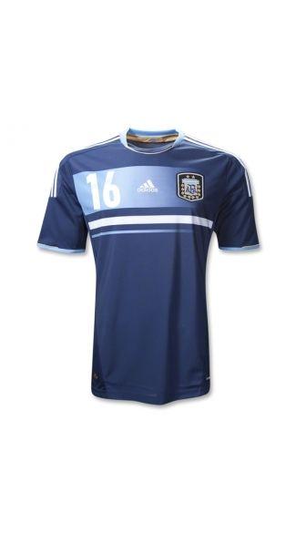 Wholesale new and cheap 2012 2013 Argentina KUN AGUERO 16 Away soccer  football jerseys 9fc6f5cbb