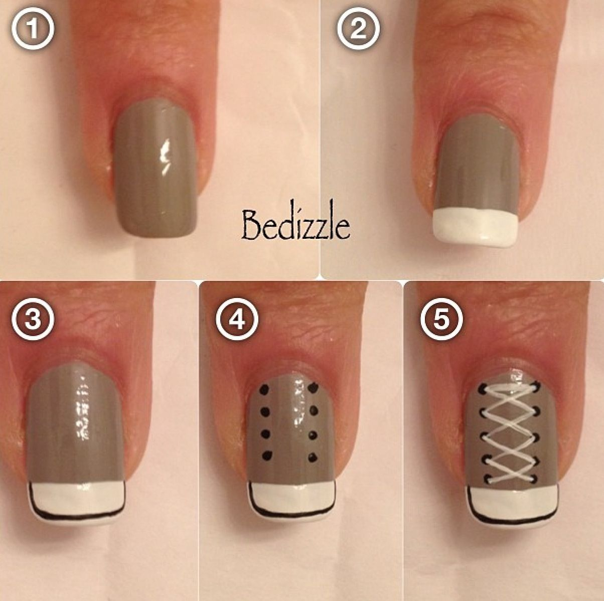 Converse easy nails