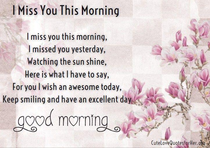 Morning Love Poems 2