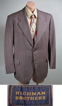 1d927ee4551 1940s Dated Vintage Men's Wool Sport Coat Jacket By Richman Brothers ...
