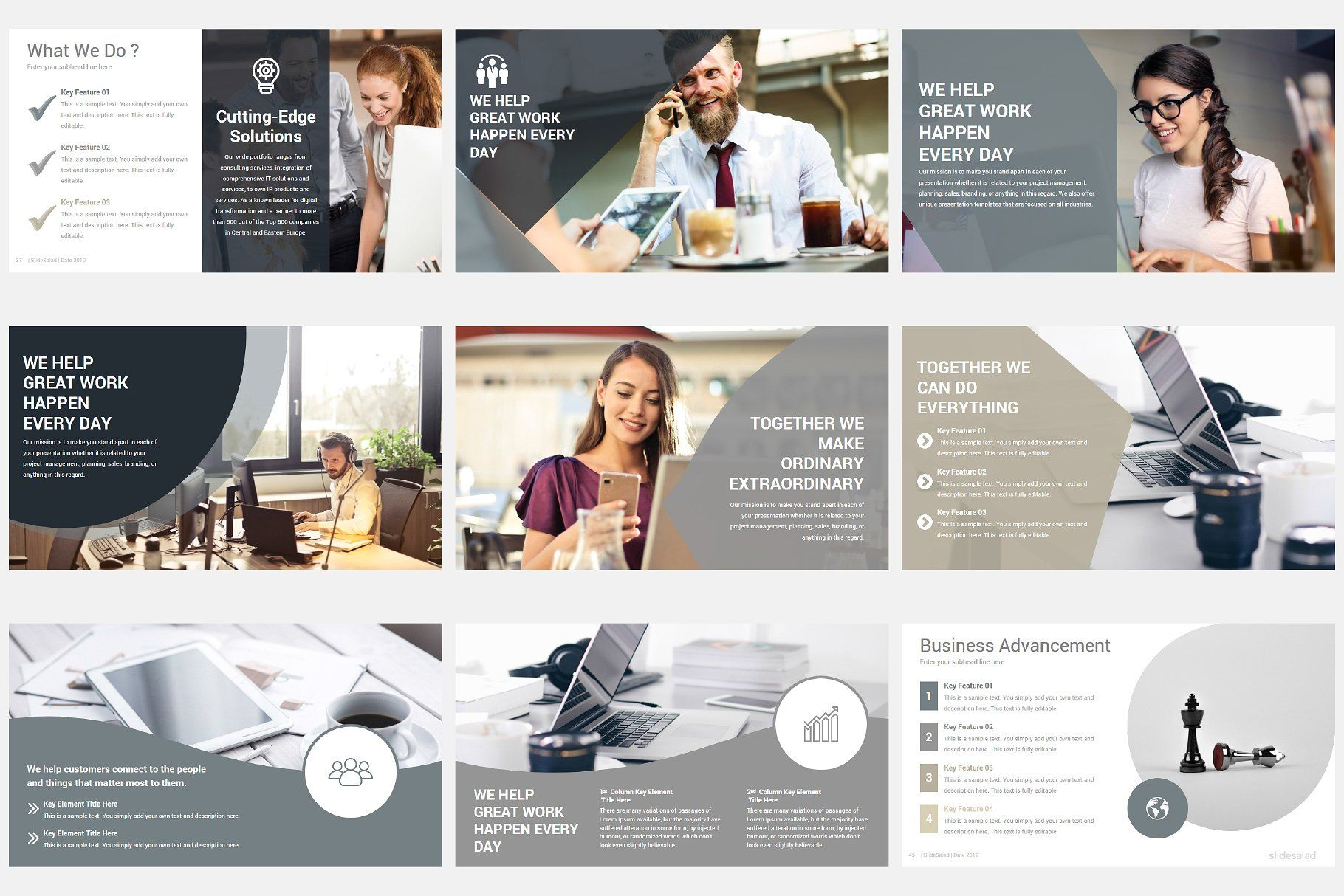 Modern Company Profile Powerpoint With Images Company Profile