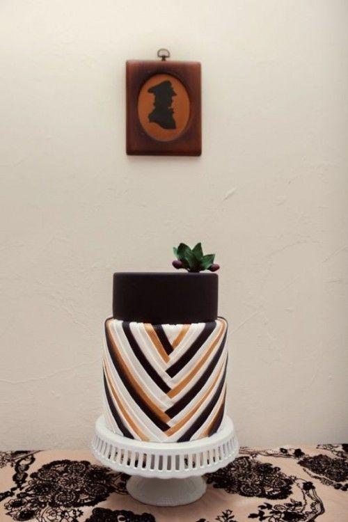 Jaw Dropping Geometric Cake Designs For A Modern Wedding