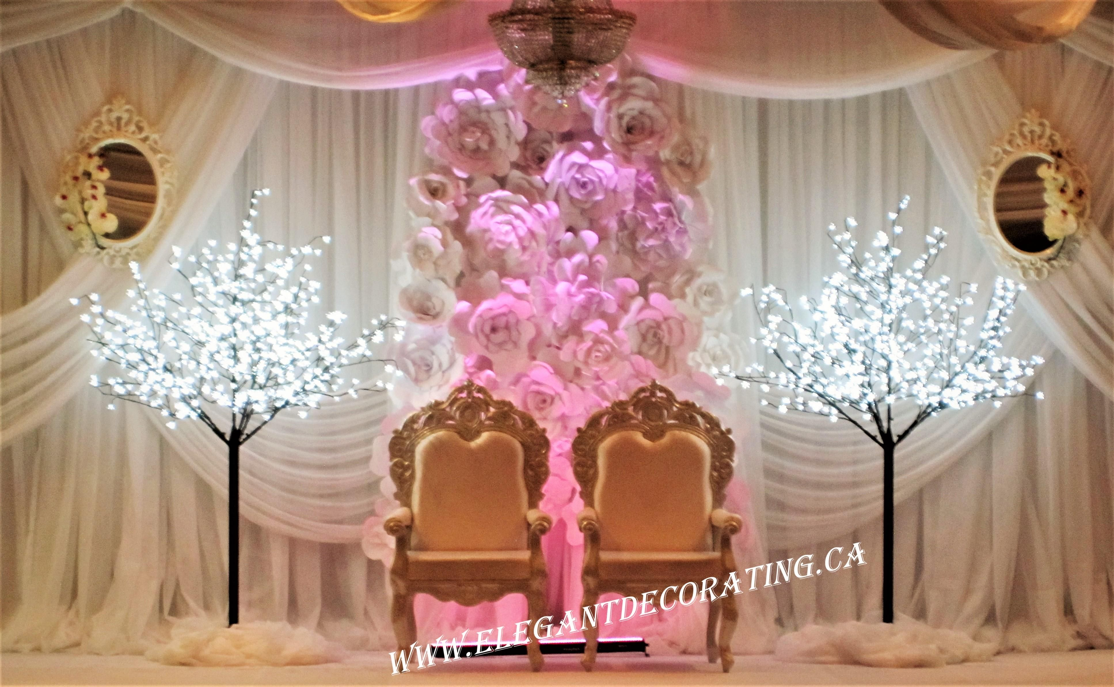 wedding chair covers hire north east indoor hanging chairs canada indian stage décor ideas