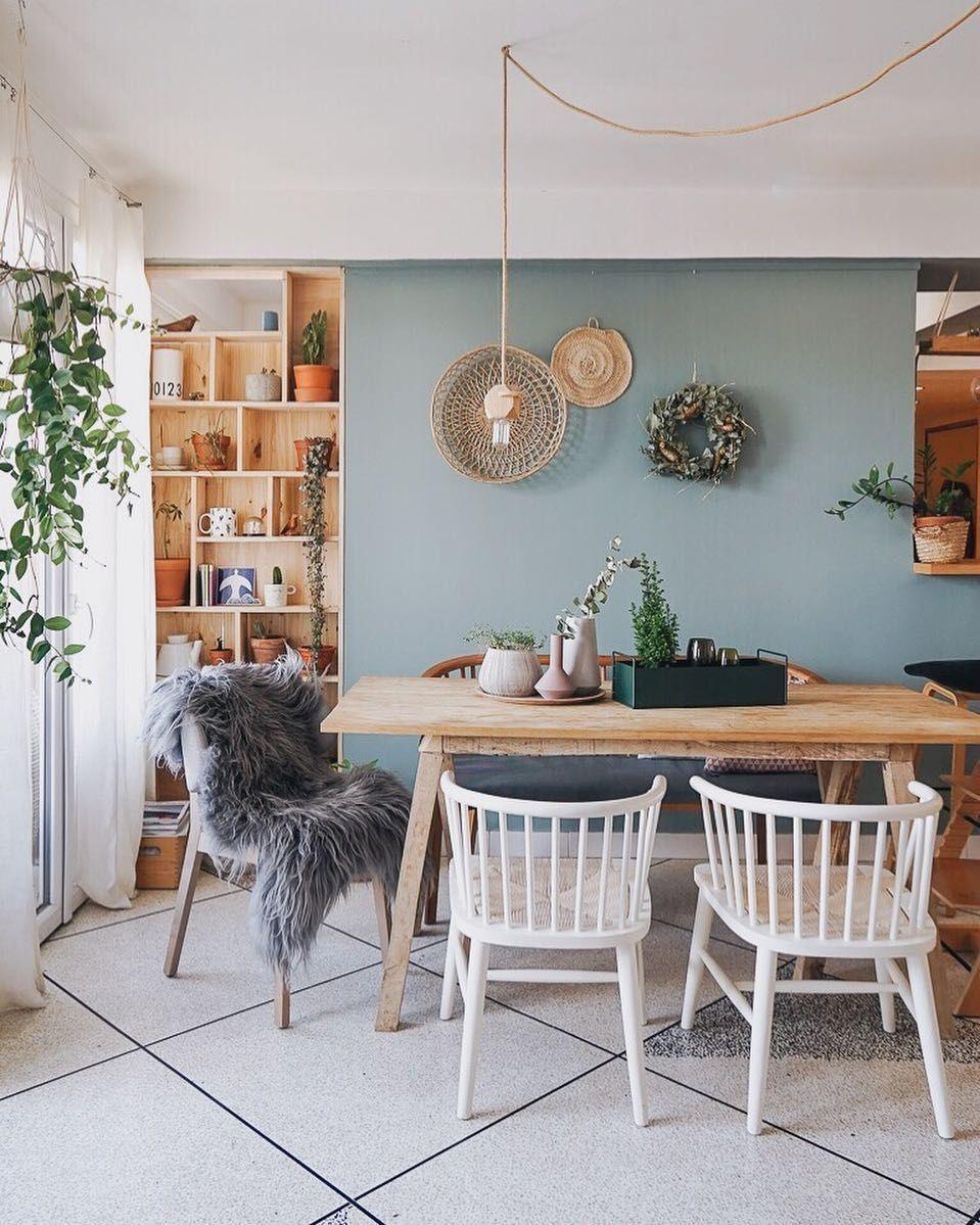 Gem tliches esszimmer mit skandinavischem landhaus flair for Einrichtungsideen esszimmer
