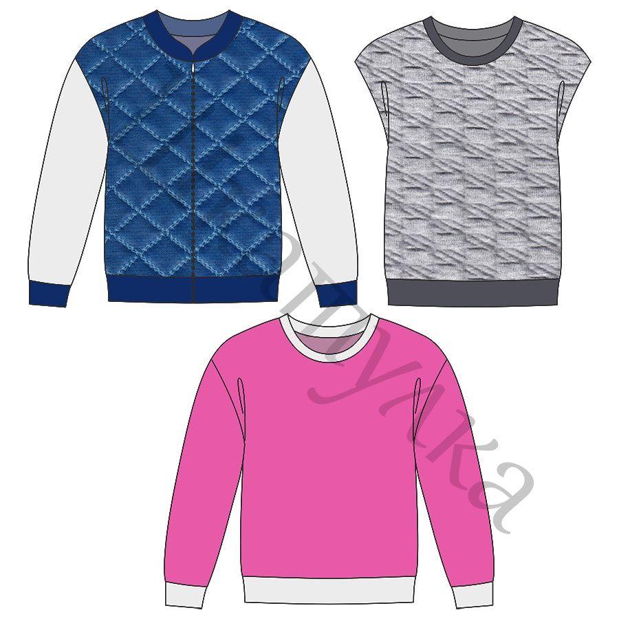 Удлиненные рубашки женские выкройка 3