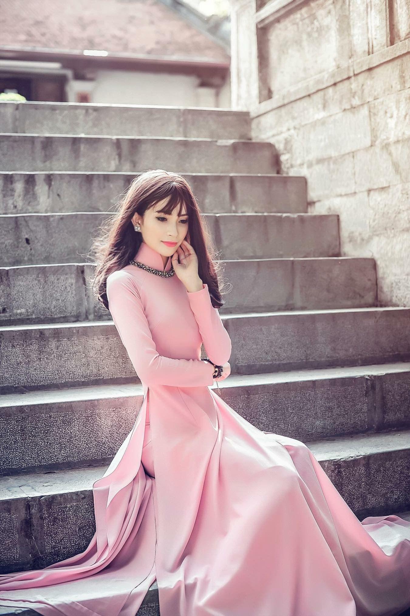 Ngoc Anh More | Ao dai | Pinterest | Faldas pantalon, Moda coreana y ...