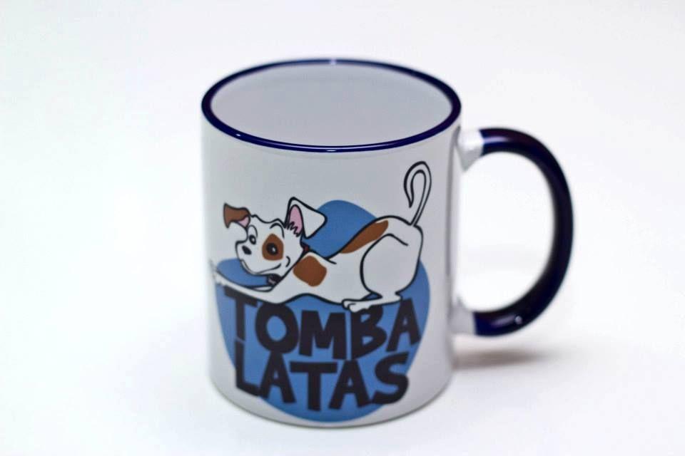 Caneca TOMBA LATAS. R$ 15,00 Gostou?   produtos@tombalatascuritiba.com.br