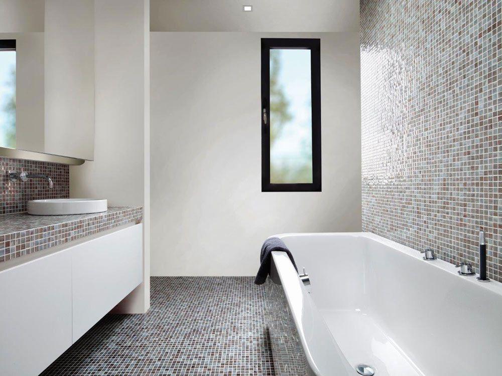 Badkamer Mozaiek Tegels : Mozaiek tegels badkamer consenza for meubels ideeën badkamer