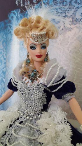 ooak barbie marie antoinette style custom doll repaint by cipriano ebay - Barbie Marie