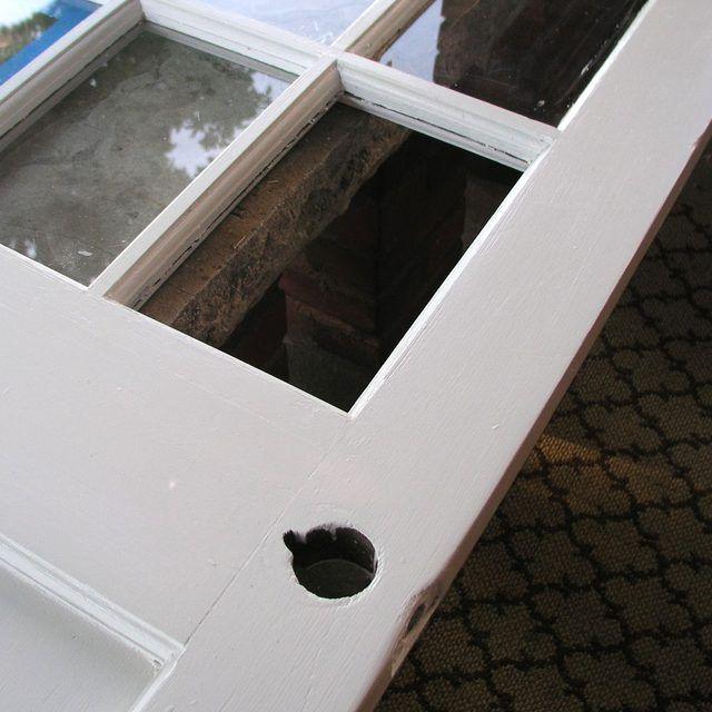 Broken Glass Door Pane Window Glass Replacement Glass Door