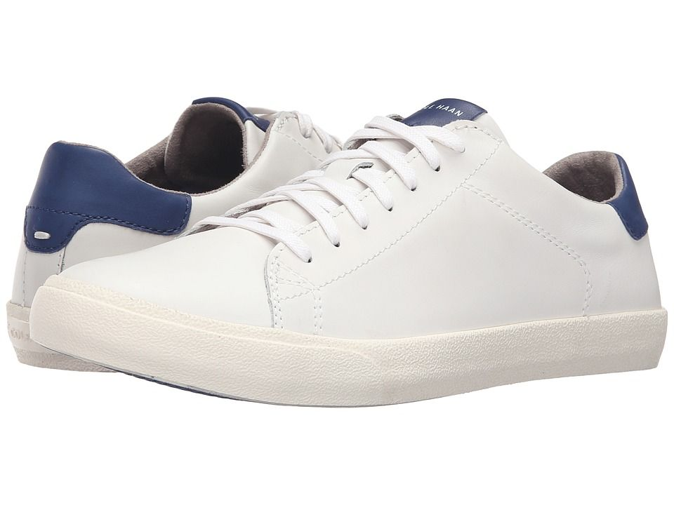 COLE HAAN COLE HAAN - TRAFTON CLUB COURT (RAINSTORM/OPTIC WHITE LEATHER)  MEN'S