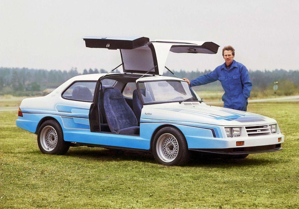 Mellbergs Custom Saab Blue Spirit 1982 Bilar