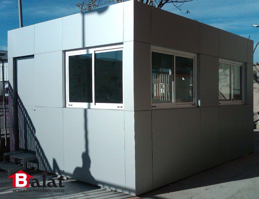 Caseta de vigilancia caseta prefabricada barcelona caseta prefabricada m dulos prefabricados - Balat modulos prefabricados ...