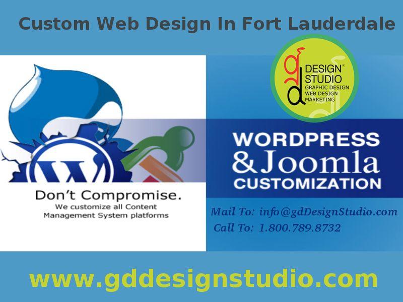 Web Design Services In Fort Lauderdale Professional Custom Web Design And Website Development Search Engin Web Design Web Design Marketing Custom Web Design