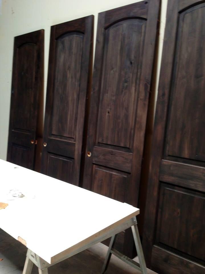 Refinished Doors Custom Alder Wood Interior Doors Creative