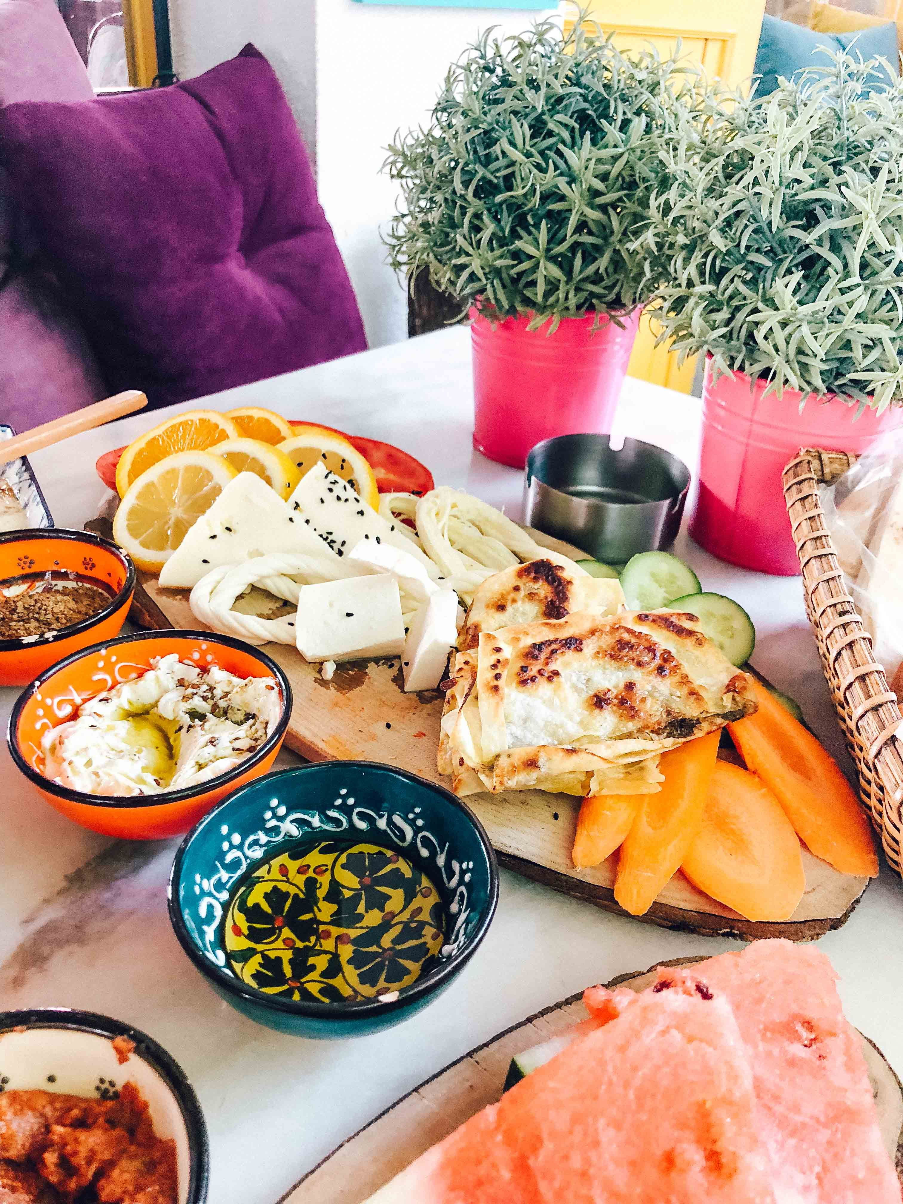 There S Nothing Quite Like Turkish Breakfast I Recommend Arada Cafe Near The Galata Tower Turkish Recipes Turkish Breakfast Food