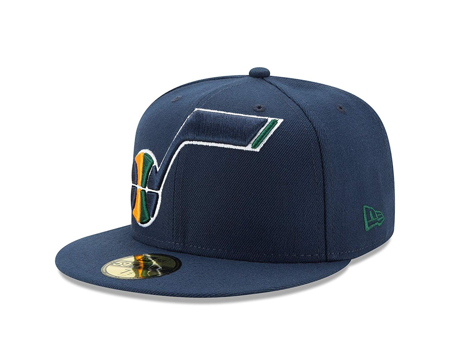 NBA Utah Jazz Logo Grand Fitted 59Fifty Cap ab9c21c1a06