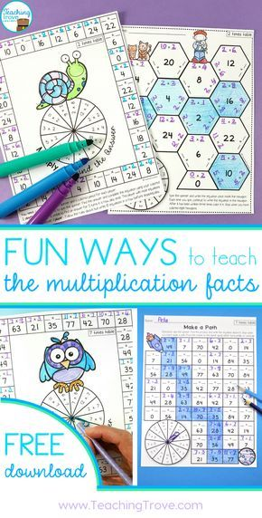 Engage and Motivate with Multiplication Activities that are Fun ...