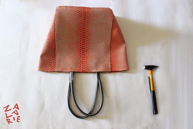 72df265a10b3 Как сшить сумку-шоппер с двойной магнитной застежкой за 15 шагов - Ярмарка  Мастеров - ручная работа, handmade