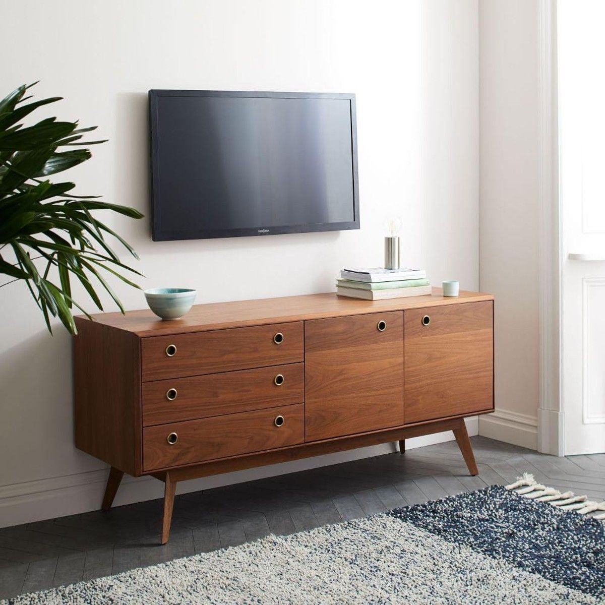 cheap for discount 7885b e7d4c West Elm Arlo Media Console | Havenly | Mid century modern ...