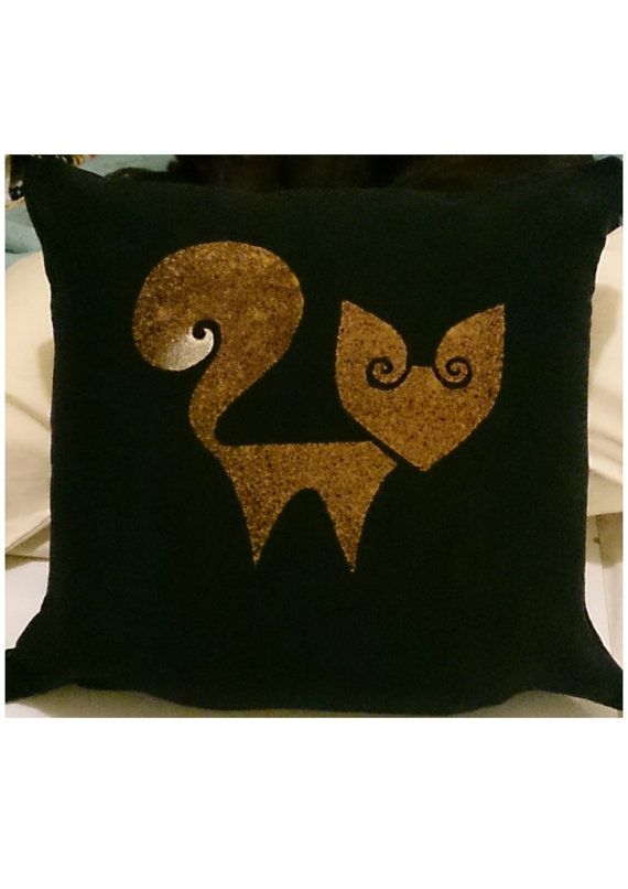 Curly Fox Cushion first edition size 16x16 by ShopAtJulesCrowther