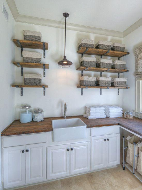 Adesivo De Roda ~ lavanderia armarios empotrados cuarto de servicio lavadero beach style laundry room lavadero