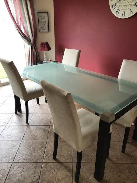 Glass Table For Sale In Tipperary On Room Glass Table Living Room